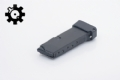 TTI +1 Base Pad For Glock 43- Flat Black
