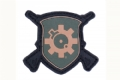 Patch, Arfcom Shield, PVC