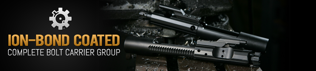 ARFCOM Ion-Bond Coated Complete Bolt Carrier Group